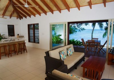 Living at vanuatu luxury villa
