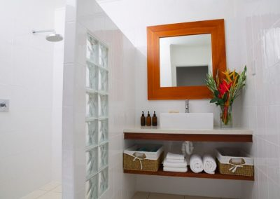 Luxury Bathroom at vanuatu villa