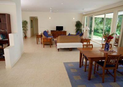 Spacious Livingroom at the villas