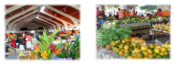 Visit Vanuatu's local market